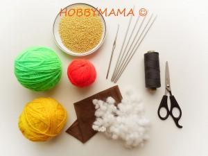 Инструменты и материалы для изготовления сокса