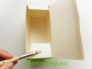 Декупаж коробочки для чайных пакетиков