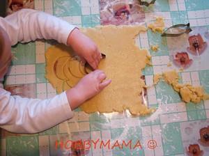 Приготовление песочного печенья