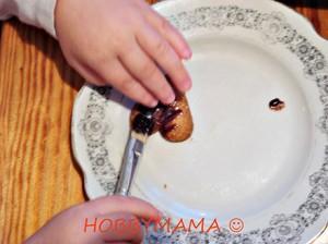 Шоколадная глазурь для печенья