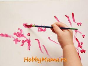 Как пользоваться пальчиковыми красками