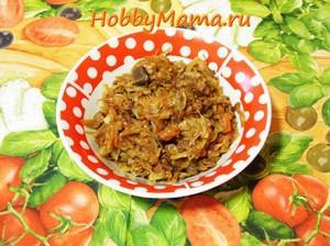 Рецепт бигоса из свежей капусты