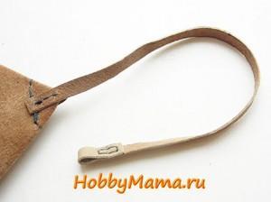 Сшить кожаный чехол для ключей