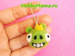 Bad Piggies Needle felting Tutorial