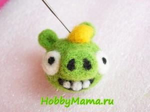How to make a Bad Piggies of wool Tutorial