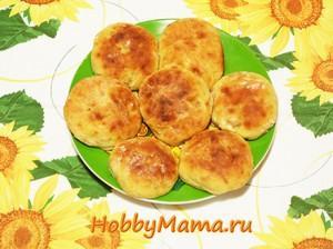 Рецепт пышных сырников с бананом и манкой в духовке