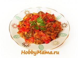 Как готовить овощную икру с баклажанами
