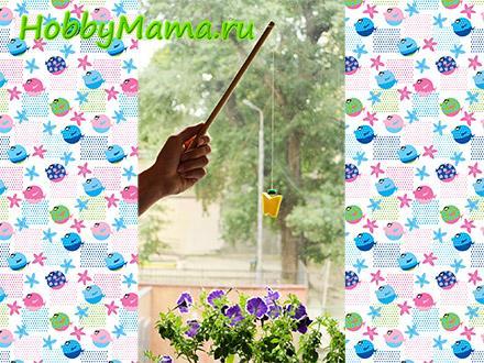 Детская игра Рыбалка на магнитах своими руками