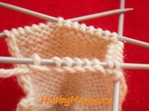 Вязание чешек спицами Фото