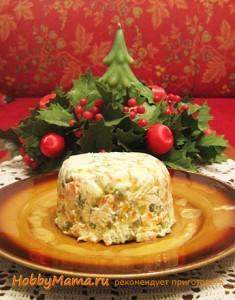Рецепты новогоднего салата Оливье