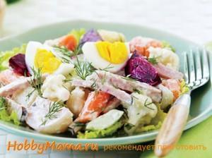 Способы приготовления салата Оливье