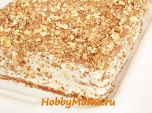 Торт Медовик Домашний рецепт