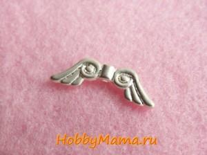 Крылья для подвески Ангел на телефон