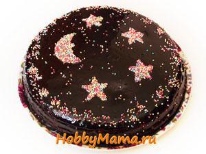 Рецепт шоколадного торта Ночка