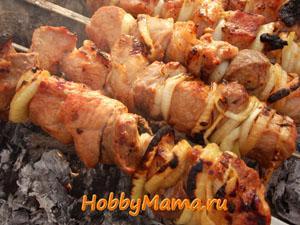Как замариновать свинину и баранину для шашлыка