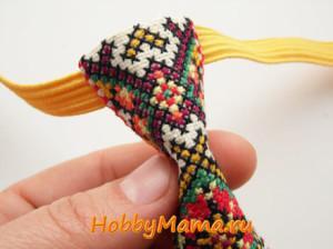 Вышитый мужской галстук своими руками Схема