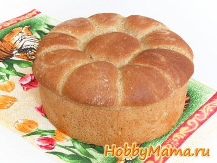 Ржано-пшеничный хлеб с солодом на картофельном отваре Рецепт