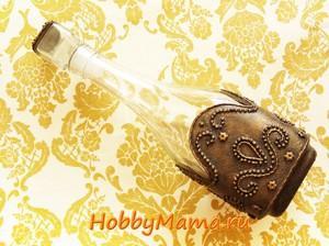 Пейп-арт бутылки Мастер-класс с фото