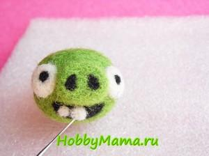 Craft Bad Piggies Felting Tutorial