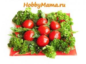 Рецепт засолки помидоров на зиму в банках