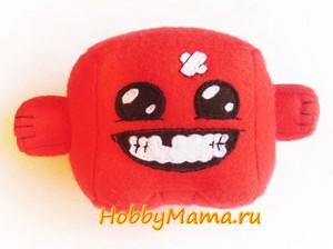 Super Meat Boy free pattern