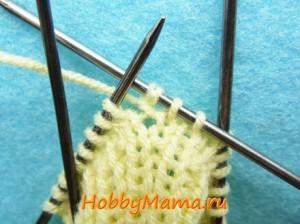 Вязание митенок спицами Описание и фото