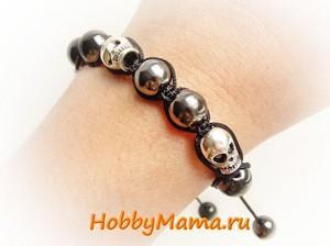 Weave Shamballa Bracelet Tutorial