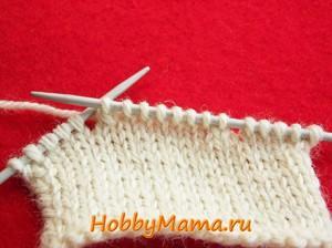 Вязание чешек спицами