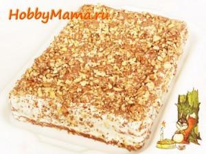 Рецепт торта Медовик домашний со сметанным кремом
