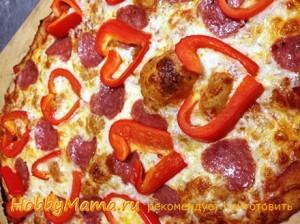 Сердечко из овощей на День влюбленных
