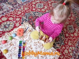 Поделки к Пасхе с ребенком 3 лет