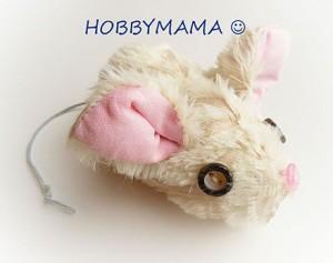 Развивающая игрушка Мышка в домике