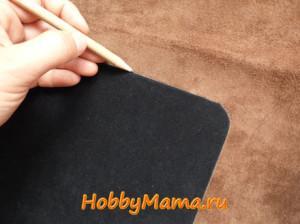 Кожаный чехол для планшета сшить