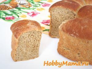 Хлеб с солодом на картофельном отваре Рецепт