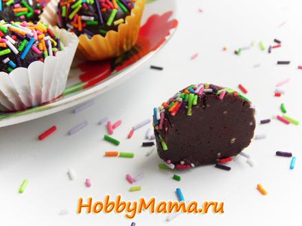 Как приготовить конфеты трюфель в дома