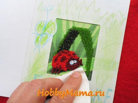 Как сделать открытку с вышивкой своими руками Мастер-класс
