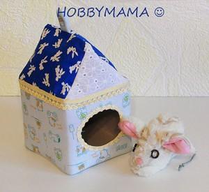 «Мышка в домике». Развивающая игрушка своими руками