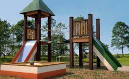 Игровая детская площадка из ДПК